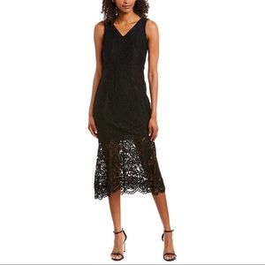 NWT Nanette lepore lace midi dress size 2